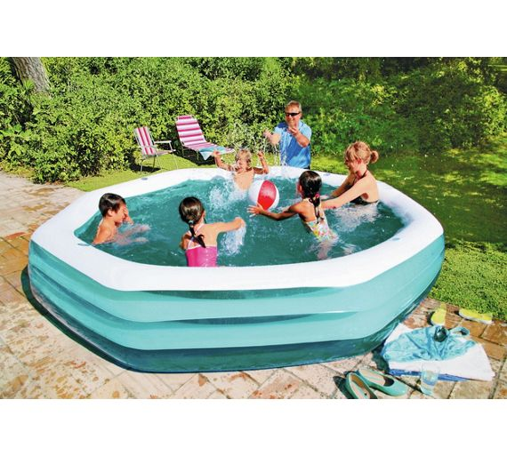 buy neighbourhood inflatable swim centre pool 10ft blue at your online shop