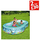 more details on Chad Valley Ocean Printed Pool - 5ft - Multicoloured.