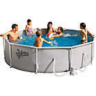 more details on Round Frame Pool - 10ft - White.
