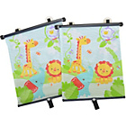 more details on Fisher-Price Rainforest Friends Sunblinds - 2 Pack.