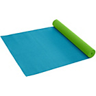 more details on Gaiam Solid 3mm Yoga Mat - Peacock/Sky.