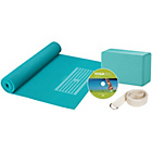more details on Gaiam Yoga Beginners Kit - Blue.