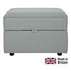 more details on Collection Ashdown Footstool with Storage - Silver.