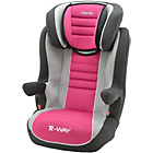 more details on Nania Rway Agora Group 2-3 High Back Booster Seat -Raspberry
