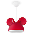 more details on Philips Disney Minnie Mouse Pendant Light Shade - Red.