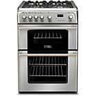 more details on Hotpoint CH60GPXF Gas Cooker - Stainless Steel/Ins/Del/Rec.