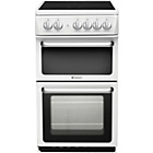 more details on Hotpoint HARE51PS Double Electric Cooker - White/Ins/Del/Rec
