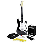 more details on Rockburn Electric Guitar Pack - Black.