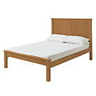 more details on HOME Grafton Double Bed Frame - Oak Stain.