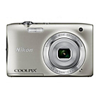 more details on Nikon Coolpix S2900 20MP Compact Digital Camera - Silver.