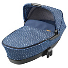 more details on Maxi-Cosi Foldable Carrycot - Denim Hearts.