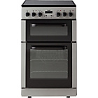 more details on Bush BEDC50S Double Electric Cooker - Silver/Exp Del.