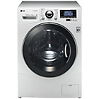 more details on LG F1495KDS 11KG 1400 Spin Washing Machine - White.