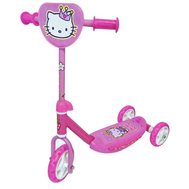 Hello Kitty Scooter Toys R Us : Buy hello kitty wide ride tri scooter pink at argos