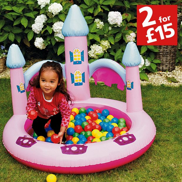 Buy chad valley princess ball pit and pool at for Garden pool argos