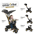more details on Smart Trike Dream 4-in-1 Touch Steering Trike - Gold.