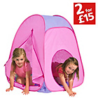 more details on Chad Valley Pink Pop Up Play Tent.