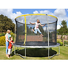 more details on Sportspower 10 Foot Trampoline and Enclosure - Home Delivery