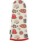 more details on Good Housekeeping Luscious Cakes Single Oven Glove - Red.