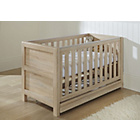 more details on Tutti Bambini Milan Oak Cot Bed with Drawer.