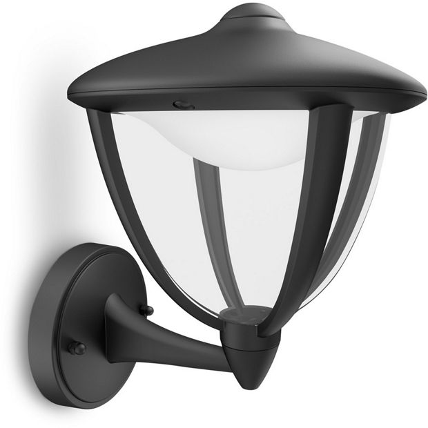 Switched Chandelier Wall Lights : Buy Philips myGarden Robin LED Wall Up Lantern - Black at Argos.co.uk - Your Online Shop for ...