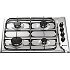 more details on Hotpoint G640SX Gas Hob - Stainless Steel/Ins/Del/Rec.