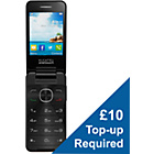 more details on Vodafone Alcatel 20.12 Mobile Phone - Black.