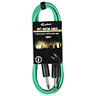more details on Rockburn 10ft Guitar Lead - Green.