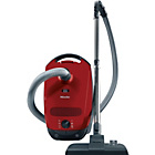 more details on Miele C1 Powerline Bagged Cylinder Cleaner - Red.