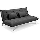 more details on Durdham Fabric Sofa Bed - Charcoal.