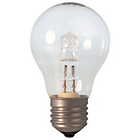 more details on Calex 18W Halogen GLS Lamp Clear Glass Dimmable 10 Pack.