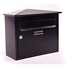 more details on House Nameplate Company Belfast Letterbox - Black.