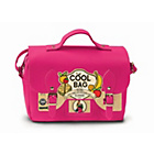 more details on Satchel Lunch Bag - Hot Pink.