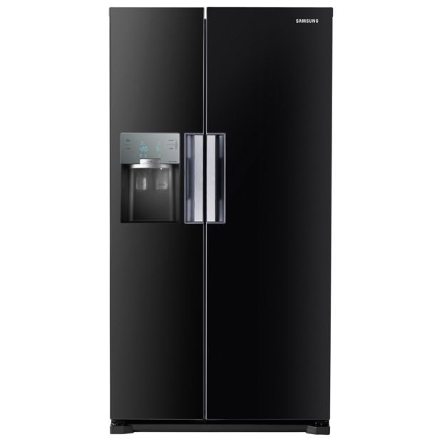 buy samsung rs7667fhcbc american fridge freezer black at your online shop for. Black Bedroom Furniture Sets. Home Design Ideas