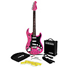 more details on Jaxville Electric Guitar Pack - Pink Punk.