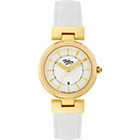 more details on Tabitha Webb Ladies' Round Quartz White Leather Strap Watch.