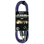 more details on Rockburn 10ft Guitar Lead - Purple.