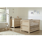 more details on Tutti Bambini Milan 2 Piece Oak Furniture Room Set.