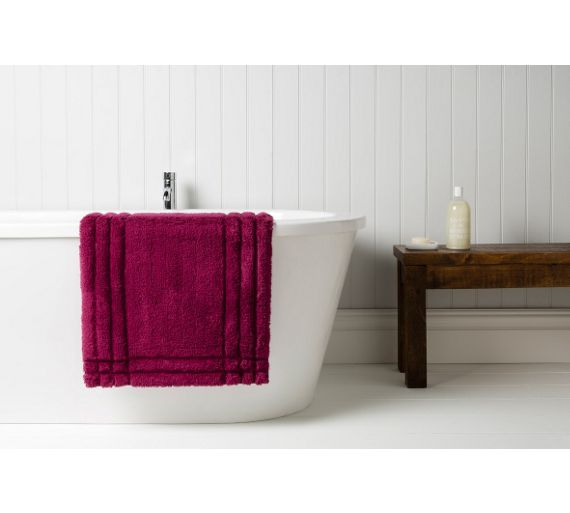 Buy Christy Medium Bath Mat Raspberry At Your Online Shop For Bath Mats