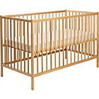more details on BabyStart Cot - Beech.