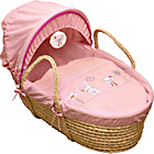 more details on Bunny and Chick Moses Basket - Pink.