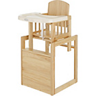 more details on BabyStart 3-in-1 Wooden Baby Highchair.