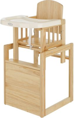 3-in-1 Wooden Baby Highchair