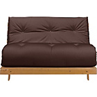 more details on ColourMatch Tosa 2 Seater Futon Sofa Bed - Chocolate.