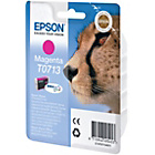 more details on Epson T071 Cheetah Ink Cartridge - Yellow.