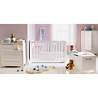 more details on Curve 6 Piece Nursery Furniture Set - White.