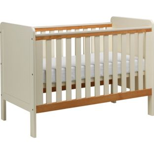 babystart cot in beech babystart hypoallergenic foam. Black Bedroom Furniture Sets. Home Design Ideas