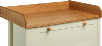 Classic Two-Tone Baby Changer Top - Pine