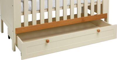 Classic Two-Tone Undercot Drawer - White