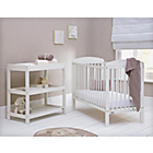 more details on Mamas & Papas Athena Cot and Changer Nursery Set - White.